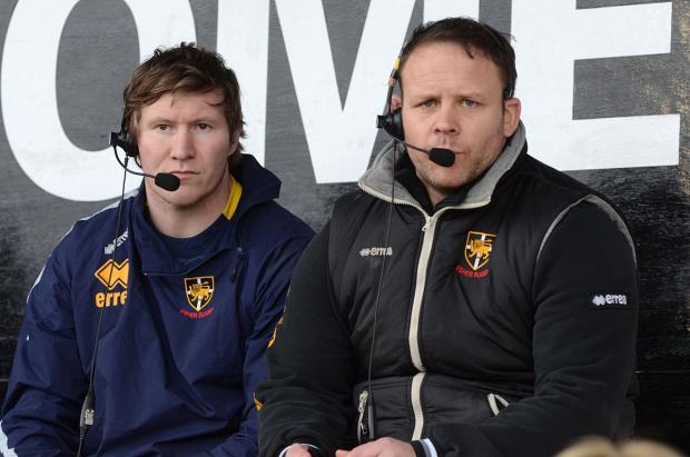 In the running: Ricky Nebbitt, right, was asked to put his name forward to become the new Esher head coach after Ollie Smith, left, resigned     SP72983