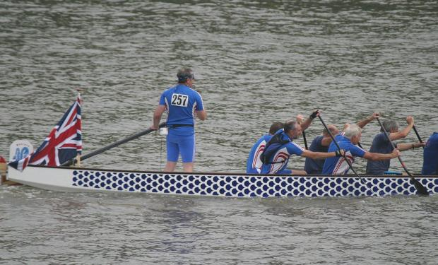 A crew from last year's race
