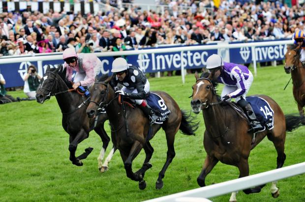 Wandsworth Guardian: Horse racing at the Epsom Derby in 2012