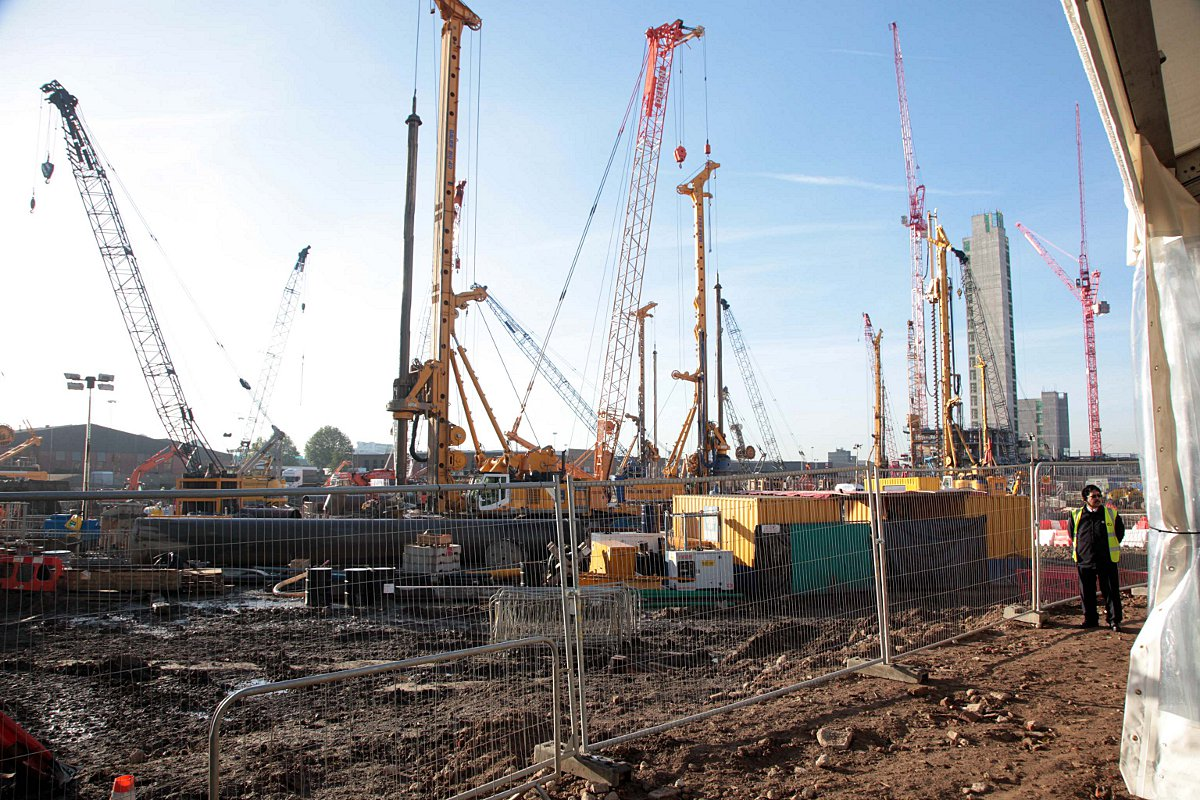 Nine Elms is undergoing a huge regeneration