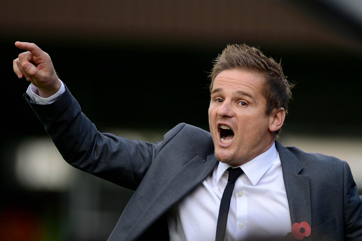 Give me goals: Neal Ardley is striving to turn the Dons fortunes around                  SP79028
