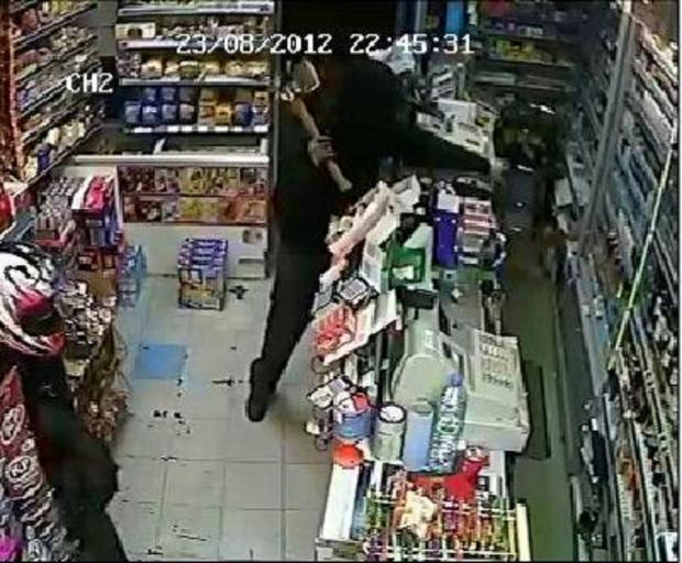 Wandsworth Guardian: A CCTV still of one robbery