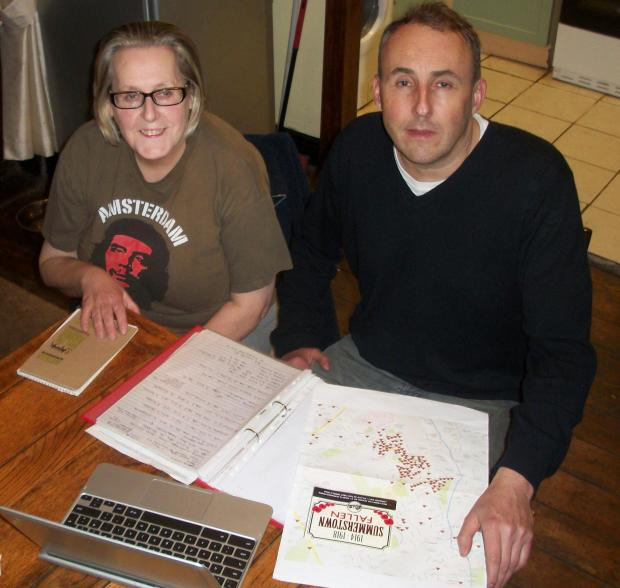 Wandsworth Guardian: Sheila Hill and Geoff Simmons