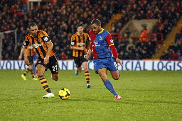 Wandsworth Guardian: Goal man: Jason Puncheon's third goal of the season sealed the win over Hull City      SP82429