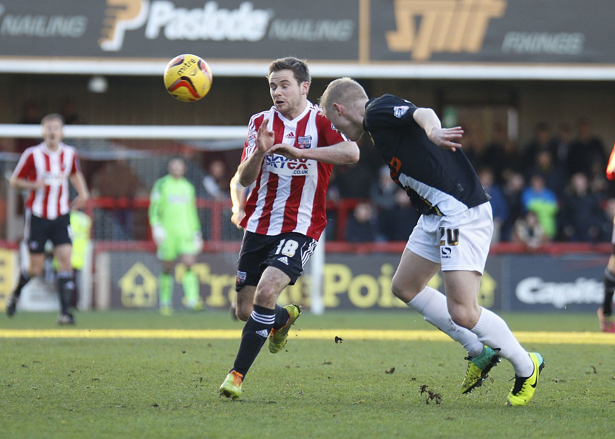Here comes the judge: Brentford loan star Alan Judge has settled in well at Griffin Park, b