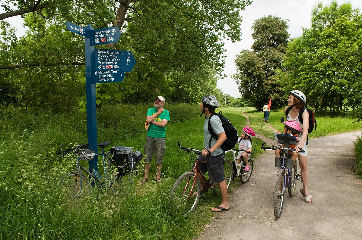 Image result for the wandle trail