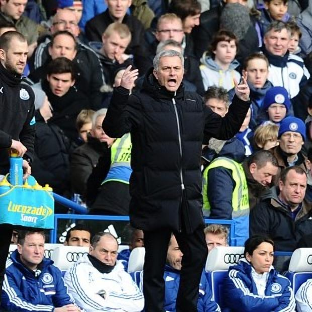 Wandsworth Guardian: Chelsea's Manager Jose Mourinho, pictured, has hit back at Manuel Pellegrini