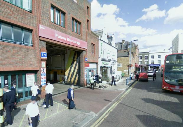 Wandsworth Guardian: Putney bus garage (Picture: Google)
