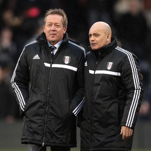 Wandsworth Guardian: Alan Curbishley and Ray Wilkins only joined Fulham's fight for survival in December