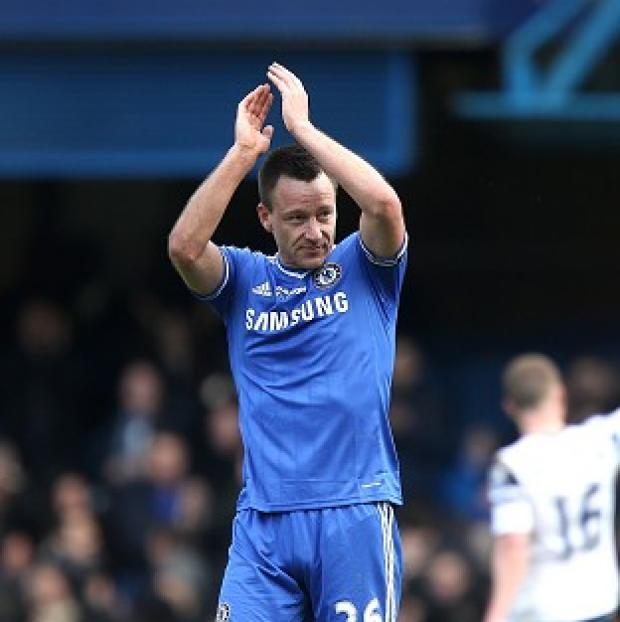 Wandsworth Guardian: John Terry celebrates after scoring Chelsea's winner
