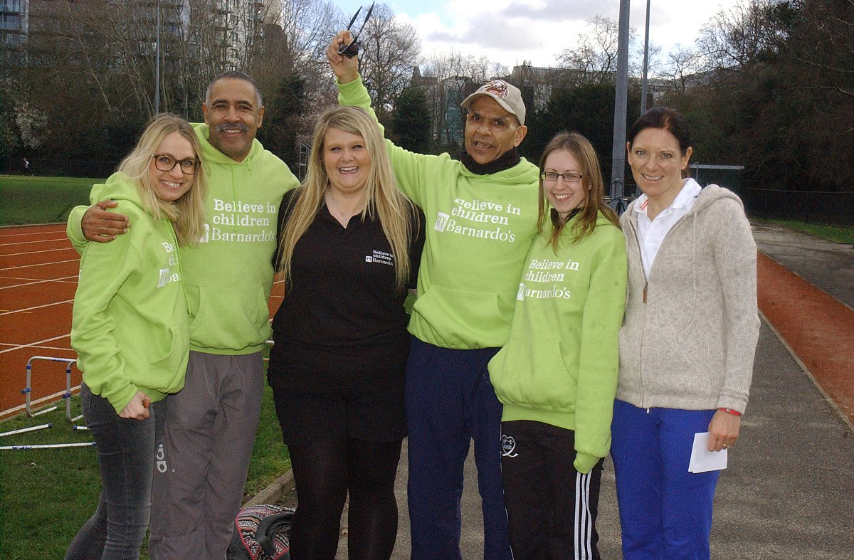 Daley Thompson and fundraisers