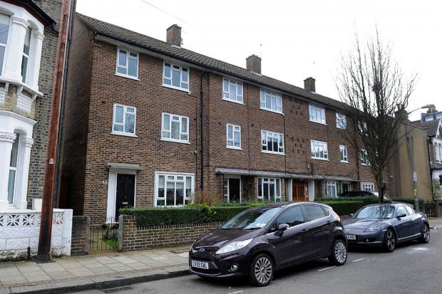 Wandsworth Guardian: The flats in Hafer Road, Battersea
