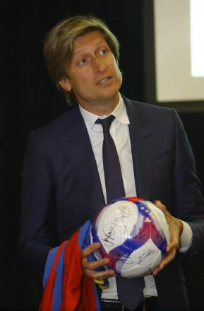 Steve Parish has already met Tony Pulis once to plan ahead for next year
