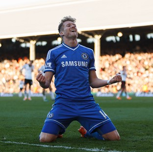 Andre Schurrle netted a hat-trick in Chelsea's 3-1 victory