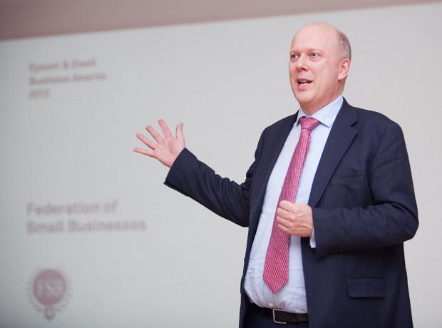 Wandsworth Guardian: Chris Grayling has come under fire over his plans for legal aid