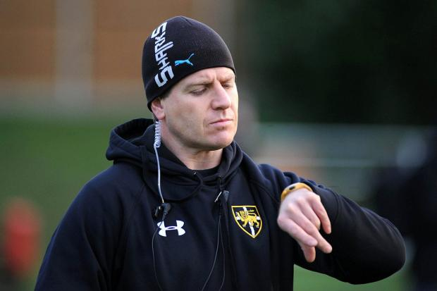 Embarrassed: Esher coach Craig Chalmers