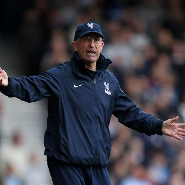 Wandsworth Guardian: Tony Pulis hailed his forwards after their performance at Upton Park