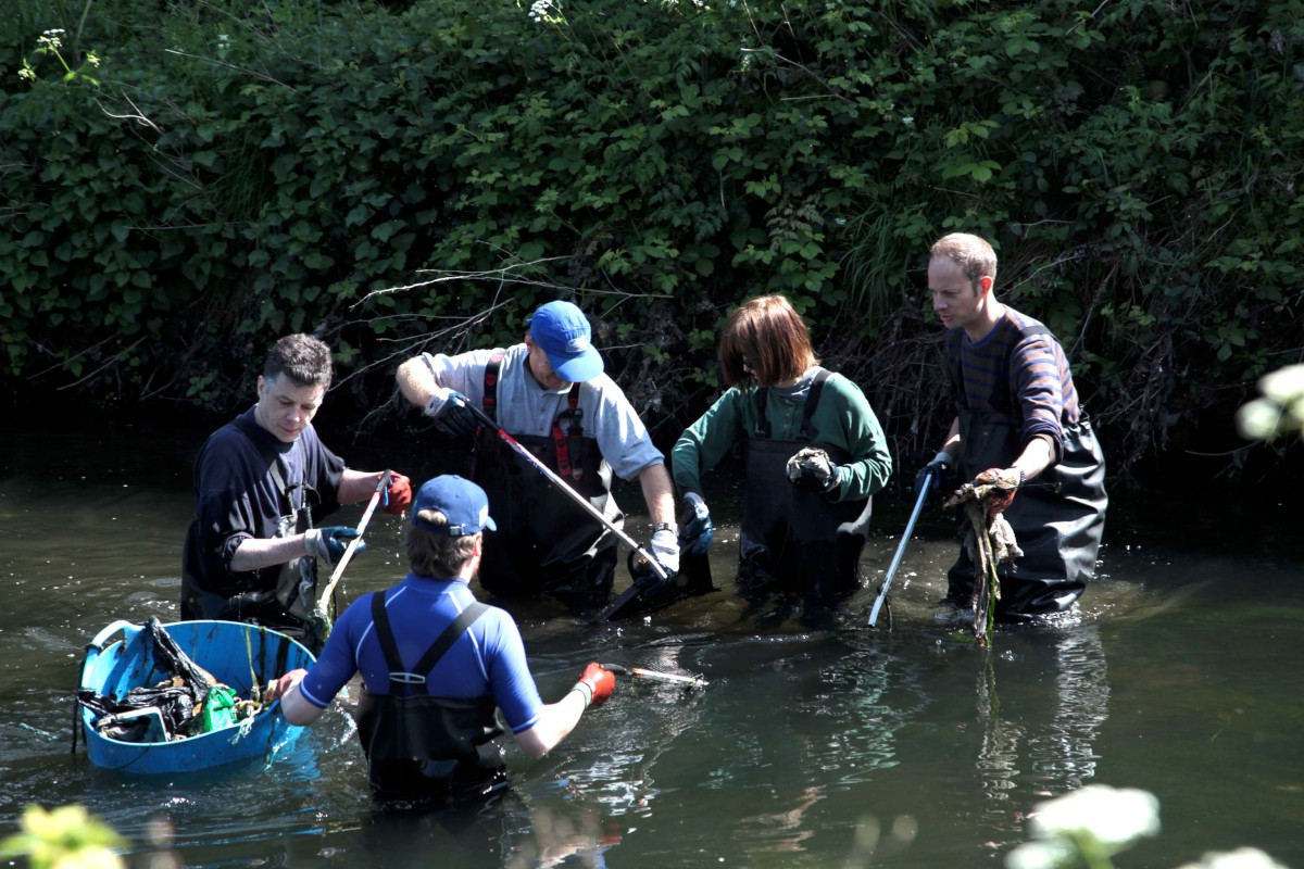 PICTURES: Wandsworth residents are doing their bit for the River Wandle