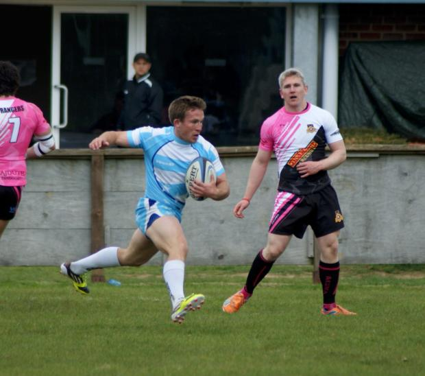 Excited: Warlingham sevens skipper Jon Osborne