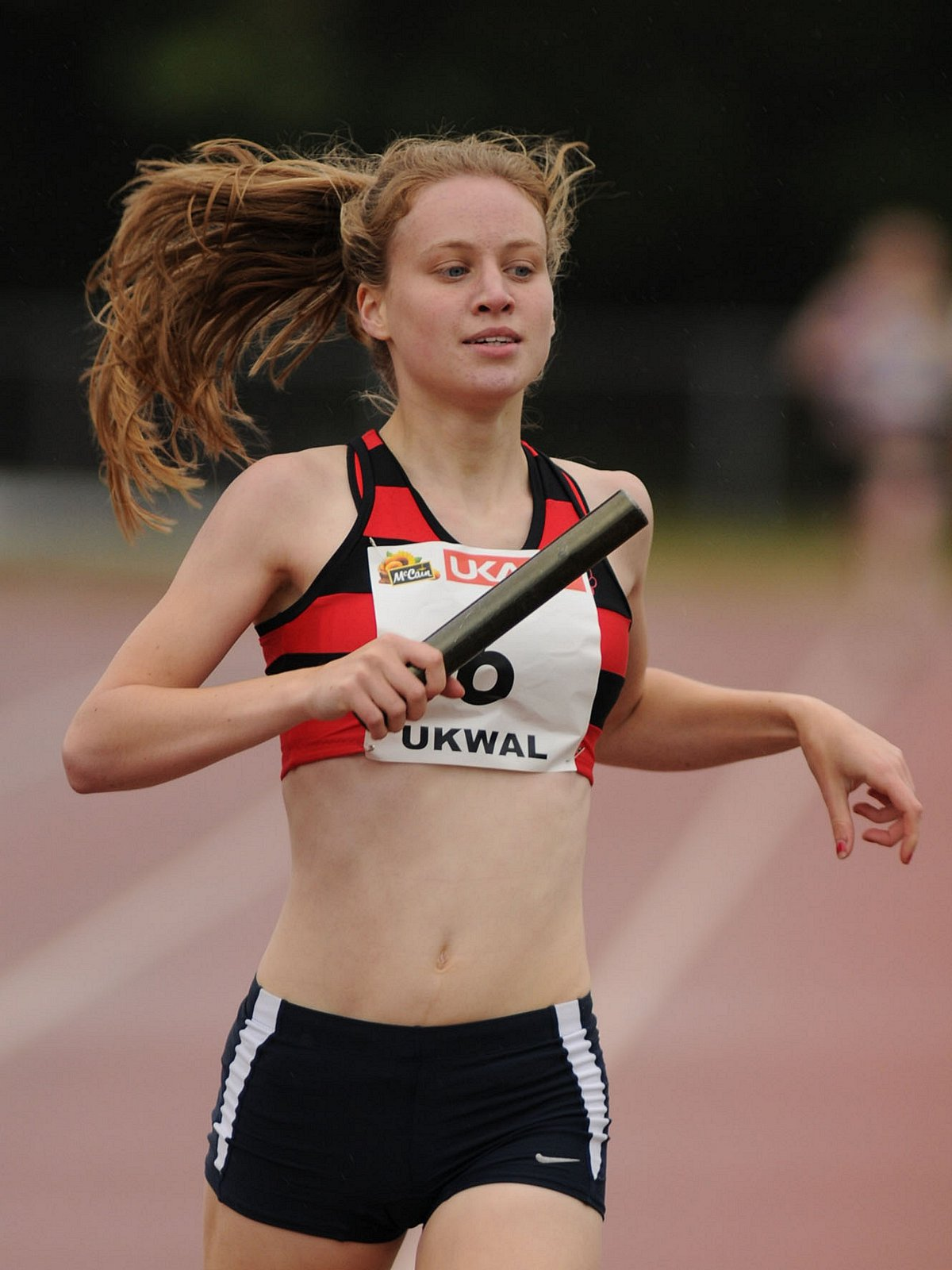 Record-breaker: Katie Snowden now holds the club record over 800m outdoors