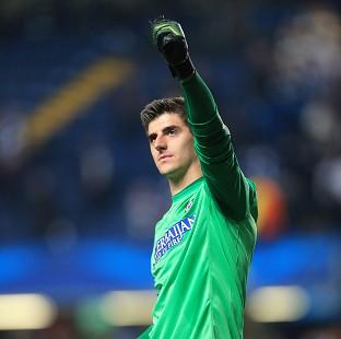 Thibaut Courtois is due to return to Chelsea