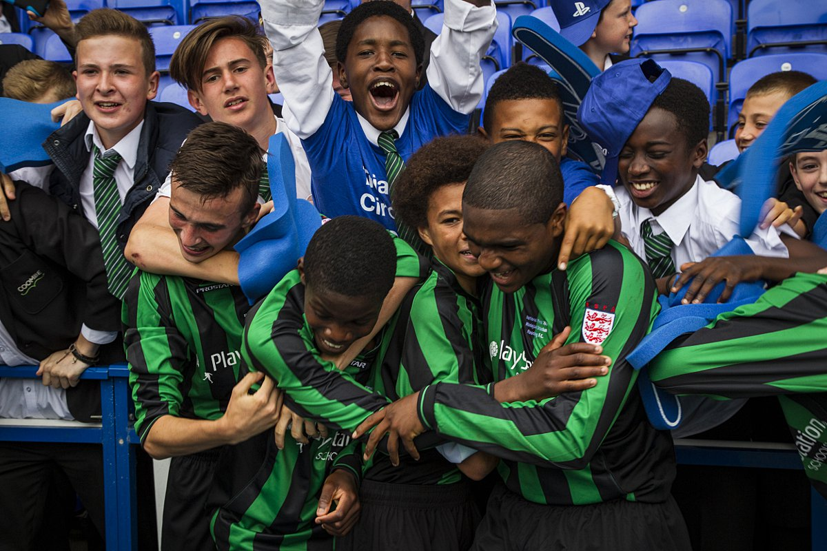 ESFA Schools' Cup winners Coombe Boys earn high praise