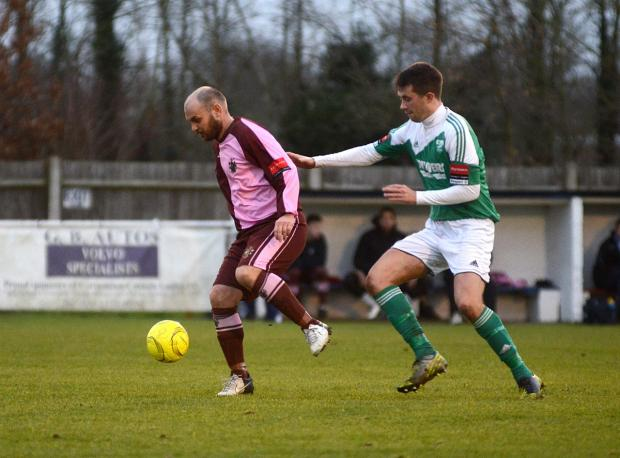 Wandsworth Guardian: New man: Ex-Ks midfeilder Tommy WIlliams helped Corinthian Casuals avoid the Ryman Division One South drop last season