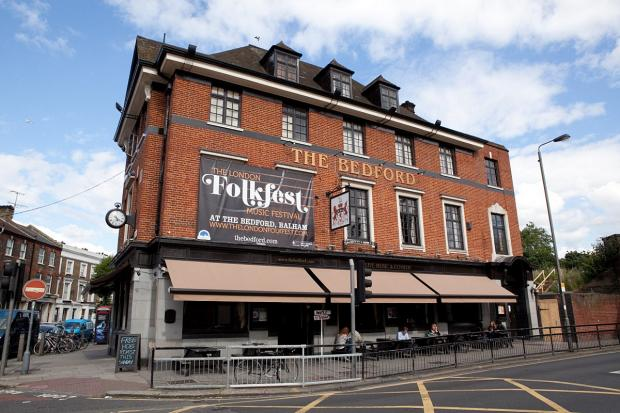The London Folkfest will be at The Bedford from June 5 - 8