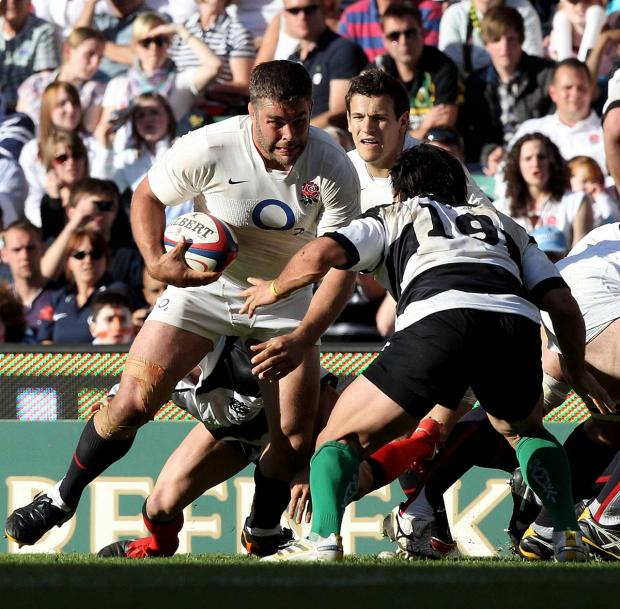 Wandsworth Guardian: Dying breed: Harlequins number eight Nick Easter and scrum half Danny Care in action for England against the Barbarians    Picture: Getty Images