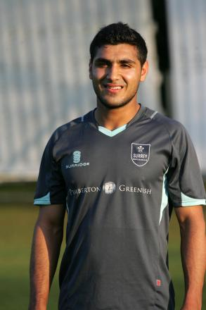 Five wickets: Banstead's Aman Shinwari took 5-44 but could not prevent a defeat to Leatherhead