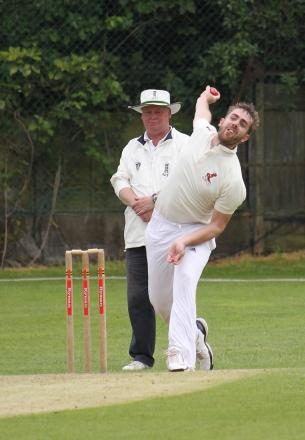 On song: Will Sabey got runs and wickets for Malden Wanderers at the weekend