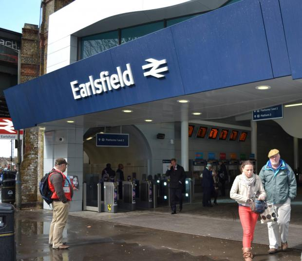 Earlsfield Station has seen big changes