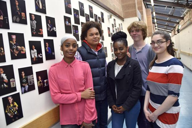 School pupils artwork goes on display