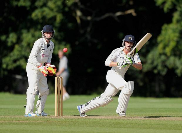 Wandsworth Guardian: Up and running: Teddington's Nick Gubbins in action for Middlesex second team