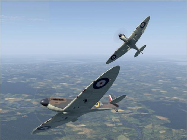Supermarine Spitfire is a British fighter aircraft used by the RAF during the Second World War