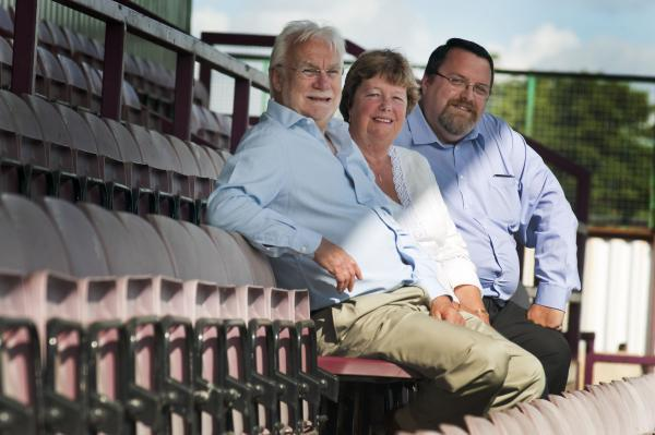 Wandsworth Guardian: Chairman Paul Smith, right, with vice-chairman Alan Powell and director Barbara Powell