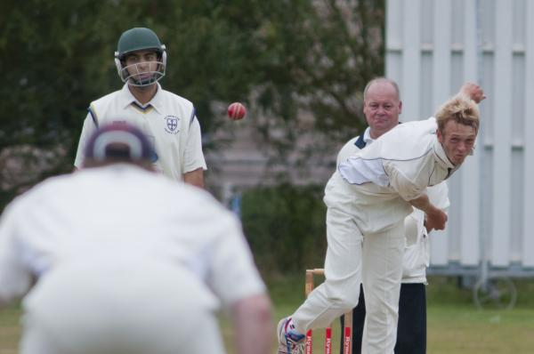 Returning hero: Jonny Tribe took four wickets after recovering from a groin injury and bout of food poisoning