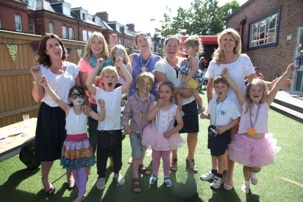 The school celebrated their large fundraising efforts at their summer fair