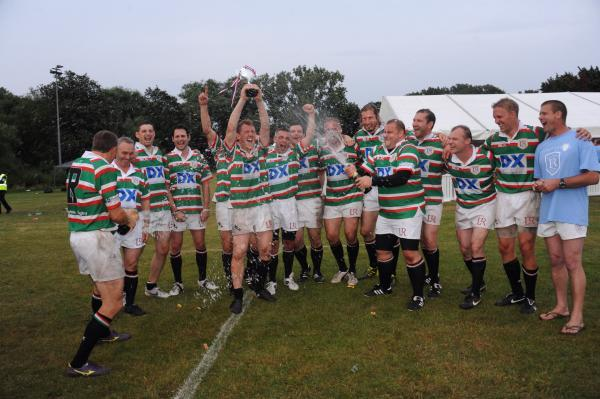 Winners: Leicester Tigers Legends