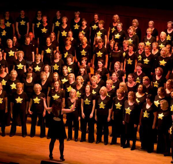 Rock Choir: Great fun and good at a party