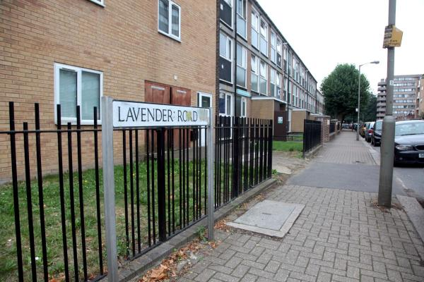 Lavender Road, Winstanley Estate