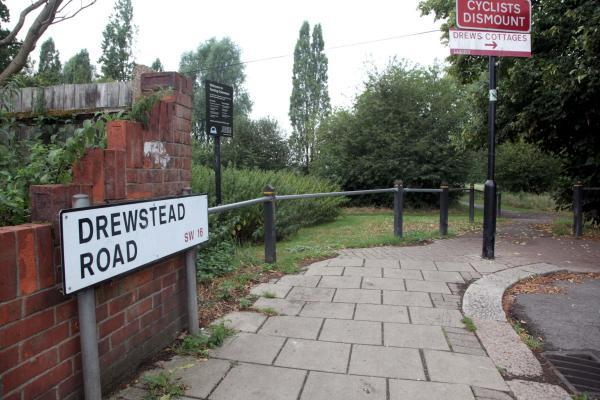 The attack happened near the entrance to the common on Drewstead Road