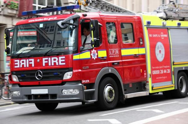 Fire fighters from Tooting saved the woman