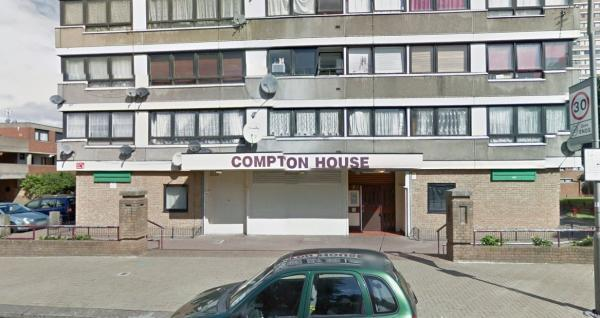 Compton House in Battersea (Pic: Google)