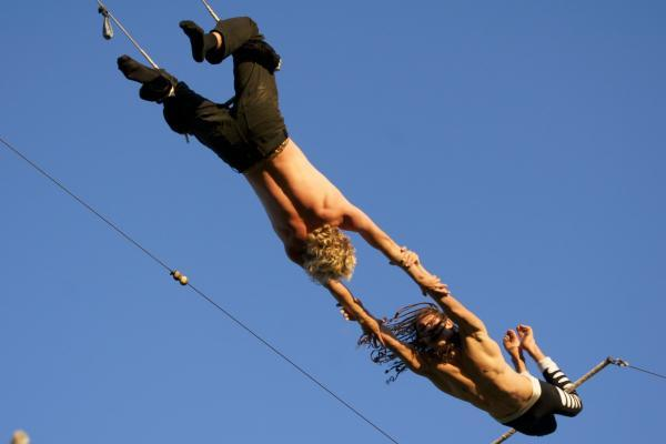 Try tightrope and trapeze with the Gorilla Circus in Battersea Park