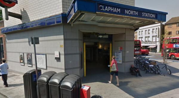 Clapham North tube station (Pic Google)