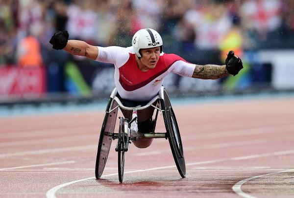 Recognition: David Weir says Paralympians are getting the praise they deserve for the hard work they put in						         	                 Picture: SWPix