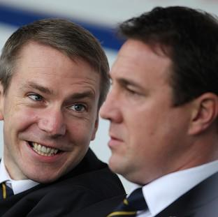 Iain Moody, left, and Malky Mackay