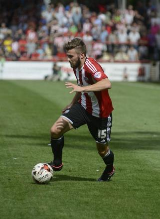On a roll: Brentford's Stuart Dallas is a man in form