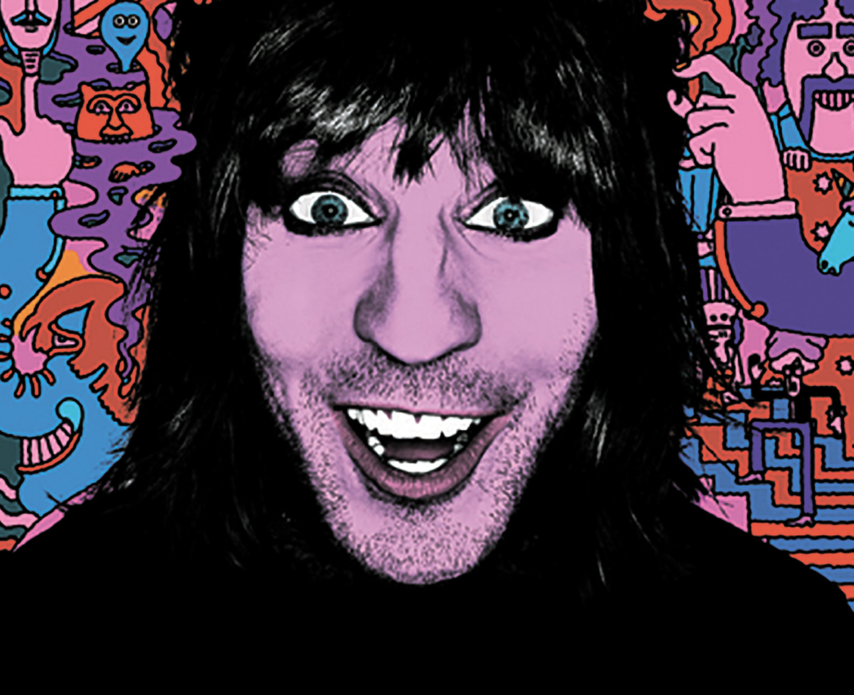 An Evening with Noel Fielding tour played Bromley, Wimbledon and Croydon.